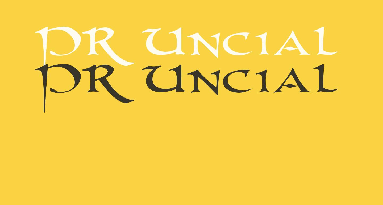 PR Uncial 2003