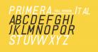 PRIMERA Italic