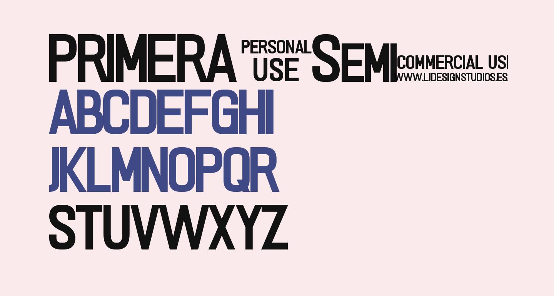 PRIMERA Semi-bold