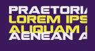 Praetorian Bold Expanded