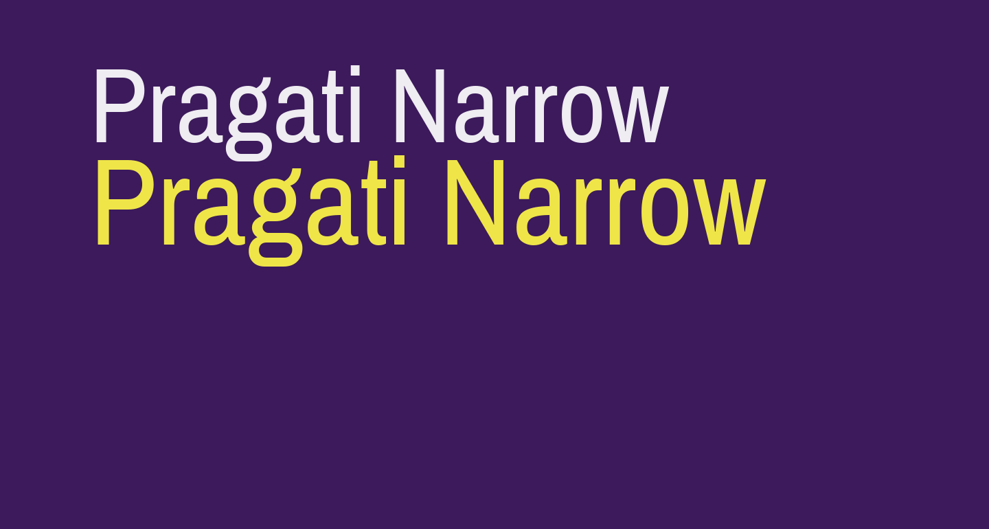 Pragati Narrow