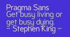 Pragma Sans