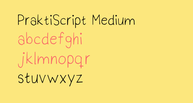 PraktiScript Medium