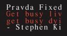 Pravda Fixed Pitch