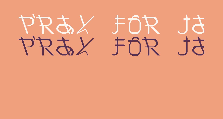 Pray for Japan Regular