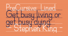 PreCursive_Lined