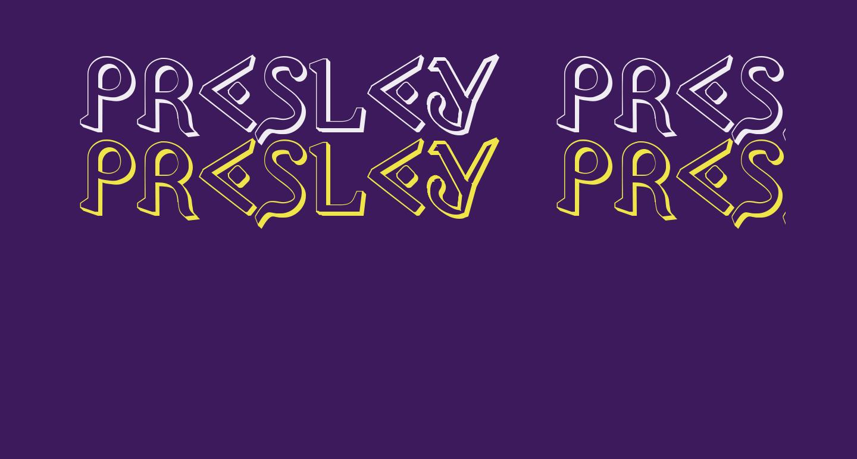 Presley Press 3D