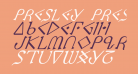 Presley Press Italic