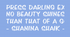 Press Darling Expanded