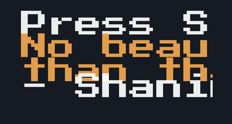 Press Start 2P Regular