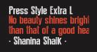 Press Style Extra L