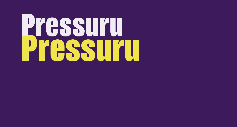 Pressuru