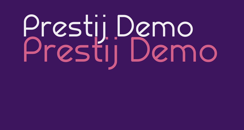 Prestij Demo