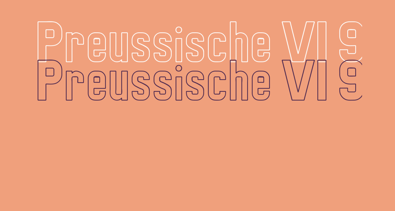 Preussische VI 9 Linie