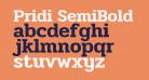 Pridi SemiBold