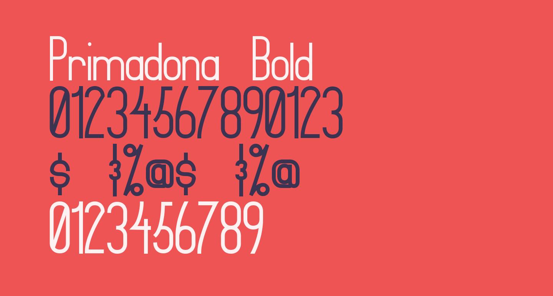 Primadona Bold