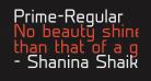 Prime-Regular