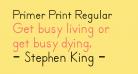 Primer Print Regular