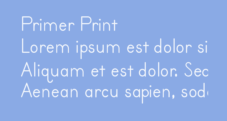 Primer Print