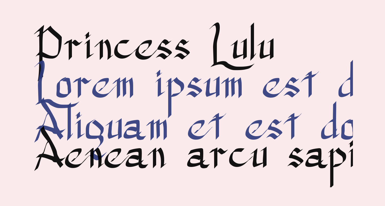 Princess Lulu