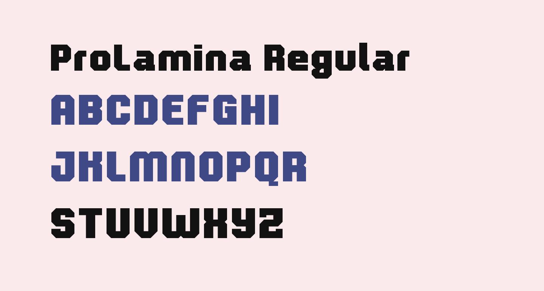 ProLamina Regular