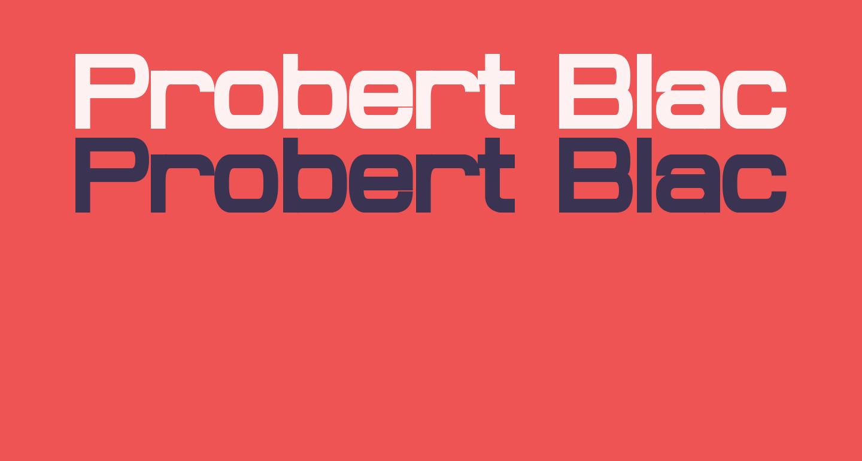 Probert Black
