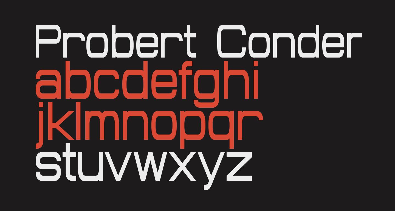 Probert Condensed
