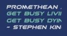 Promethean Academy Italic
