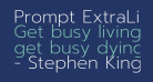 Prompt ExtraLight