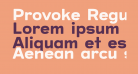 Provoke Regular-Rounded