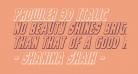 Prowler 3D Italic