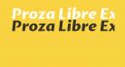 Proza Libre ExtraBold Italic