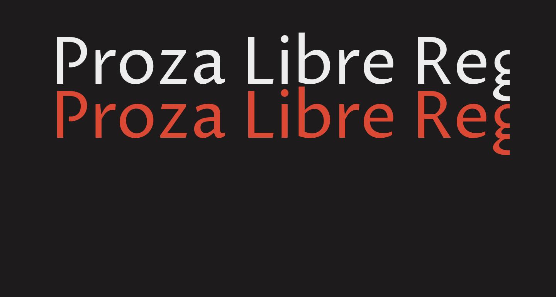 Proza Libre Regular