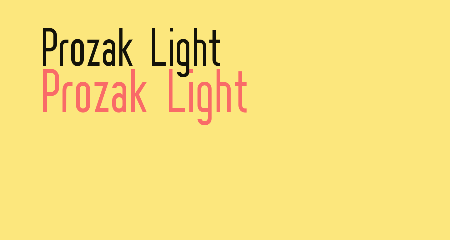 Prozak  Light