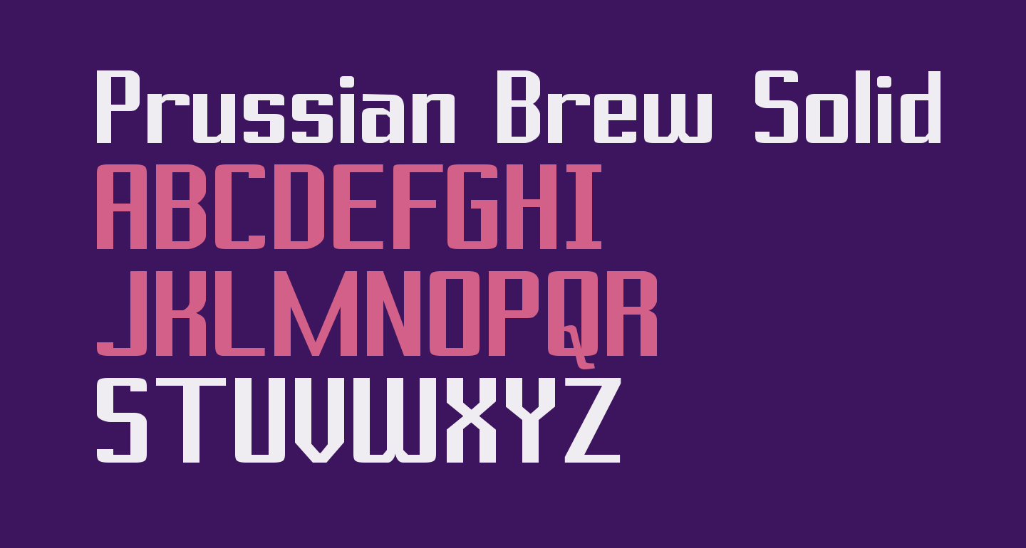 Prussian Brew Solid