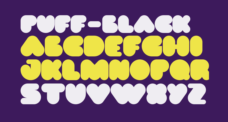 PUFF-Black