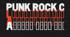 PUNK ROCK Color Fill