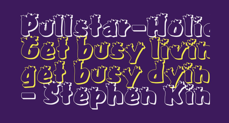 Pullstar-Holiday