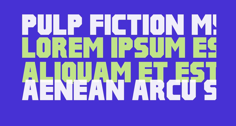 Pulp Fiction M54