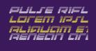 Pulse Rifle Gradient Italic