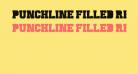 Punchline Filled Regular