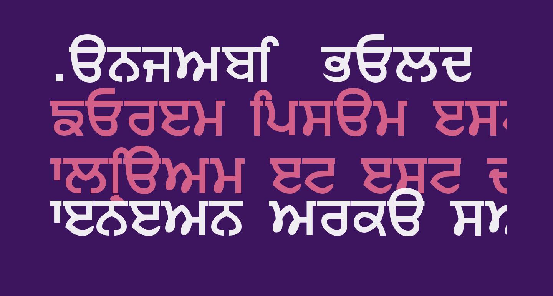 Punjabi  Bold