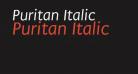 Puritan Italic
