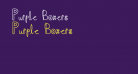 Purple Boxers
