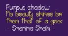 Purple shadow