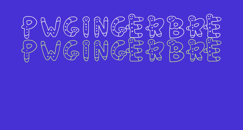 PWGingerbread
