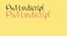 PWHandscript