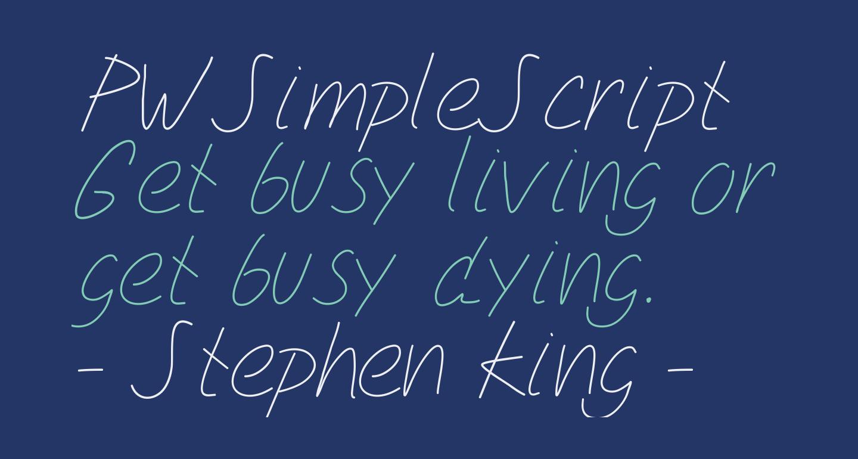 PWSimpleScript