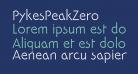 PykesPeakZero