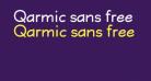Qarmic sans free